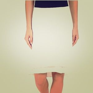 NWT Double Double Layer Skirt. Medium.